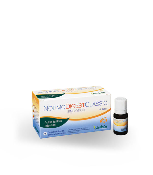 Normodigest 10 viales - Herboldiet